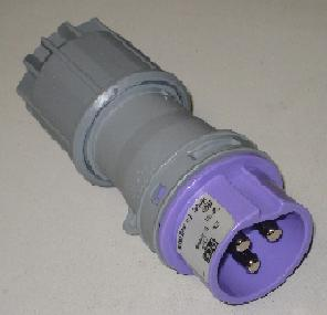 24V 16A 3 pin plug